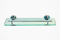 Cosmos Single Glass Bathroom Shelves from Tilo Tapware