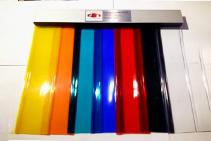 900 x 2400mm Strip Curtain Doors from Premier Door Systems