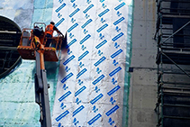 Facade Waterproofing and Air-Tightness with GCP