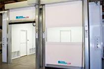 Rapid Roll High-Speed Doors for Cold Storage from Trellis Door Co