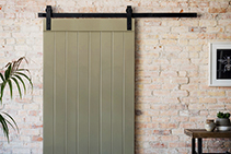 Sliding Barn Door Systems Available from Hazelwood & Hill