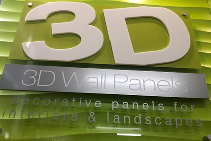 Feature Wall Panels on Display in Melbourne from 3D Wall Panels