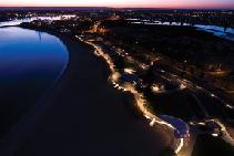 LED Lighting Scheme for Koombana Bay Foreshore from WE-EF