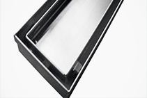 DIY 1500 x 70mm Tile Insert Drain Grates from Vincent Buda & Co