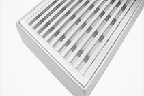 1500 x 70mm Heelguard Drain Grates from Vincent Buda & Co