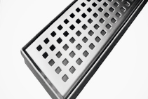 Square Pattern Grates - 1000 x 70mm from Vincent Buda & Co