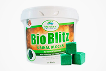 Water Soluble Urinal Blocks - Bio Blitz from Bio Natural Solutions