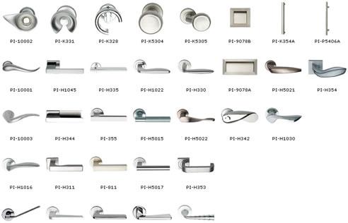 pittella door handles  sc 1 st  Spec-Net & Modern Architectural Door Furniture Mother of Pearl \u0026 Sons Waterloo ...