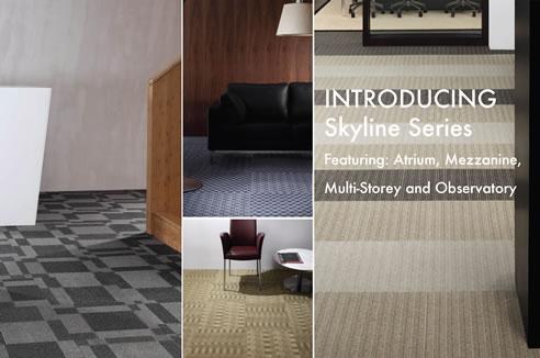 Environmentally Sustainable Modular Carpet Tiles from GEO Flooring