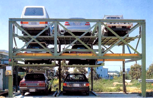 Hercules Carparking Systems Lift And Slide Car Stackers