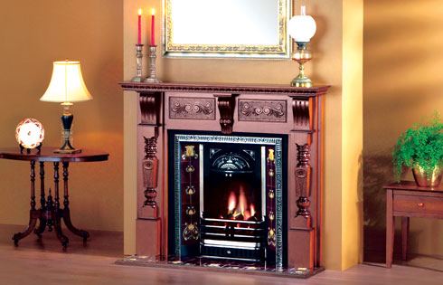 AGNEWS introduce the Federation fireplace setting.