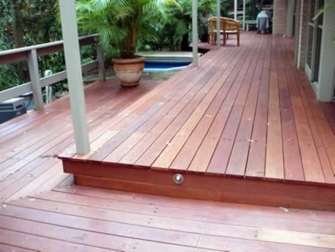 Bransons building materials quality suppliers of for Timber deck construction