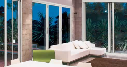 Genesis™ windows and doors have been designed with a unique aluminium frame allowing different products to be integrated together throughout yourhome. & Sliding bi-fold windows and doors from the great new Genesis ...