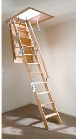 Attic Ladders Convert Your Roof Space To Storage