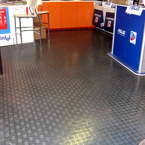 Dalsouple Rubber Flooring 10 Year Guarantee