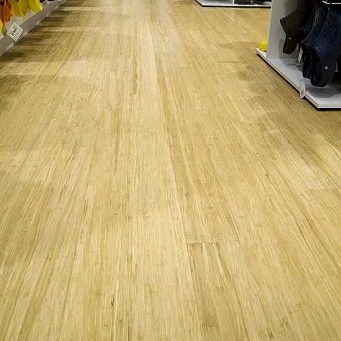 Nice Solid Strand Woven Bamboo Flooring Natural 1850x96x14mm  U003e Source. Strand  ...