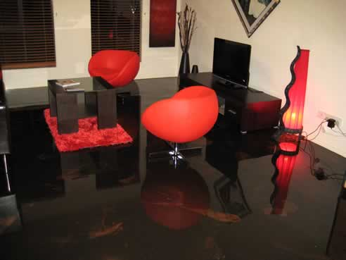 Black Gloss Epoxy Flooring From Aaa Sexy Floors With