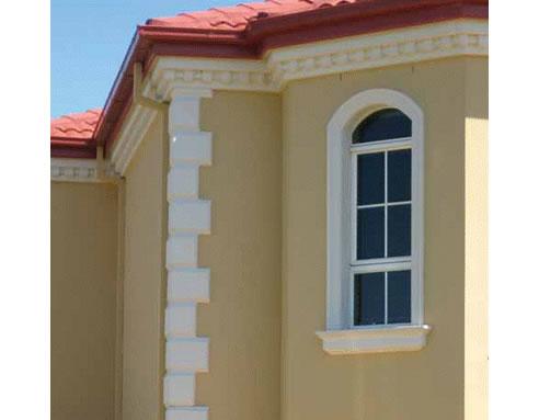 Corner panels quoins from ezybuild facades for Decorative quoins