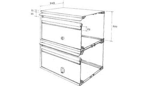 sc 1 st  Spec-Net & Aluminium Letterboxes from Securamail Aboutintivar.Com