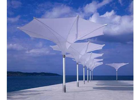 Tulip Architectural Umbrellas Instant Shade Umbrellas