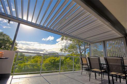 Aluminium Opening Pergola Roof Sydney Pergola Land