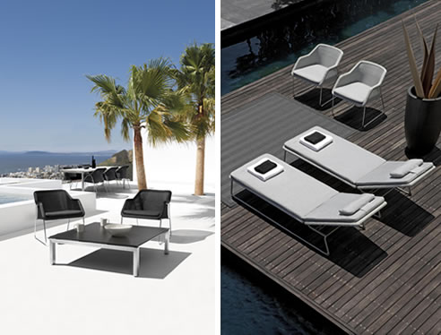 Mood Collection Of Designer Outdoor Furniture Cosh Living Fascinating Outdoor Designer Furniture
