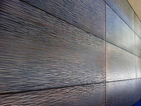 Garage Doors With Decorative Metal Surfaces Axolotl