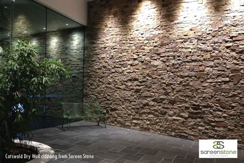 Feature Wall Stone Cladding Sydney Sareen Stone
