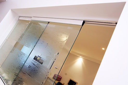 glass cavity slider window
