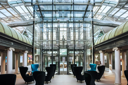 Round Glass Elevators Win Project Of The Year Schindler