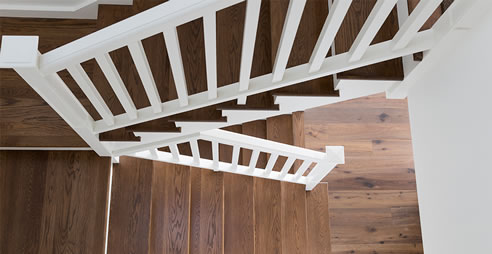 staircase timber treads