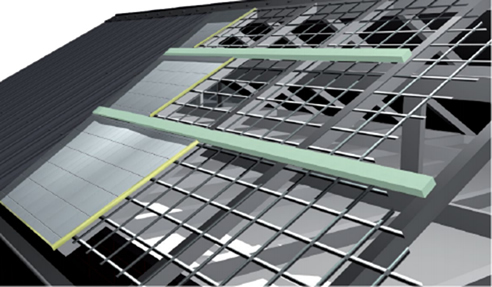 Polystyrene Roof Spacers For The Built Environment