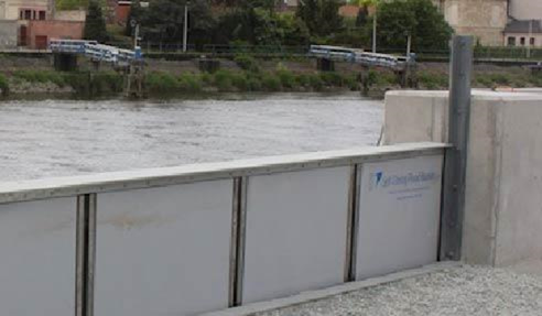 How Do Hyflo Self Closing Flood Barriers From Flooding