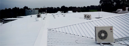 Heat reflective membrane from Cocoon Coatings