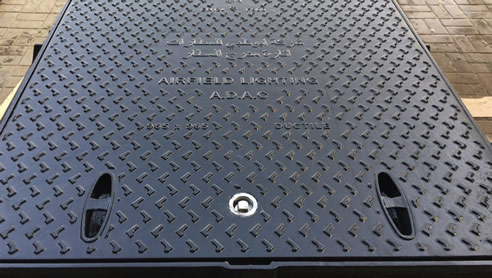 hinged hatch cover