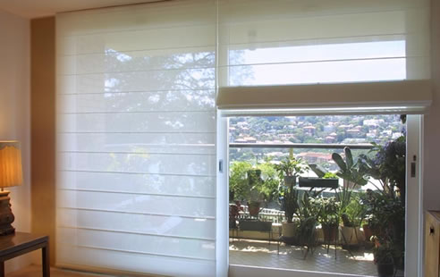 Translucent Roman Blinds