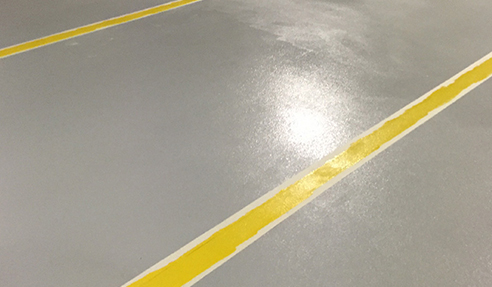 Anti-Skid Surface for Car Parks from Era Polymers