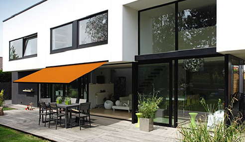 Canvas, Mesh & Clear PVC Blinds or Awnings from Nolan Group