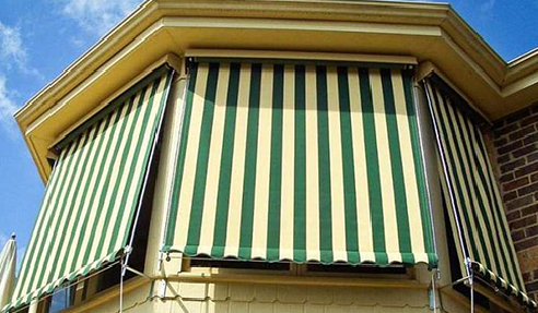 Canvas, Mesh & Clear PVC Blinds or Awnings: Brella
