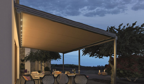 Elegant Patio in Canberra with Sottezza Conservatory Awning