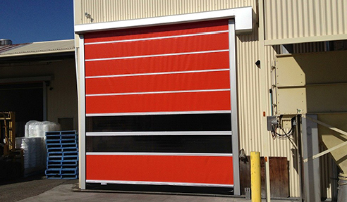Smart High-Speed Doors for Optimum Speed Performance