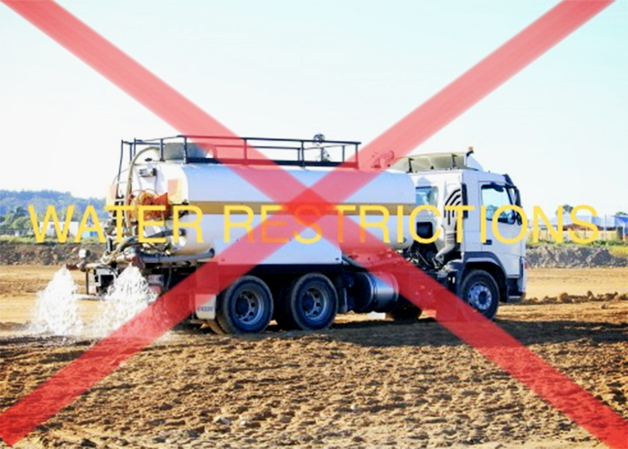 Onsite Dust Prevention During Water Restrictions with Neoferma