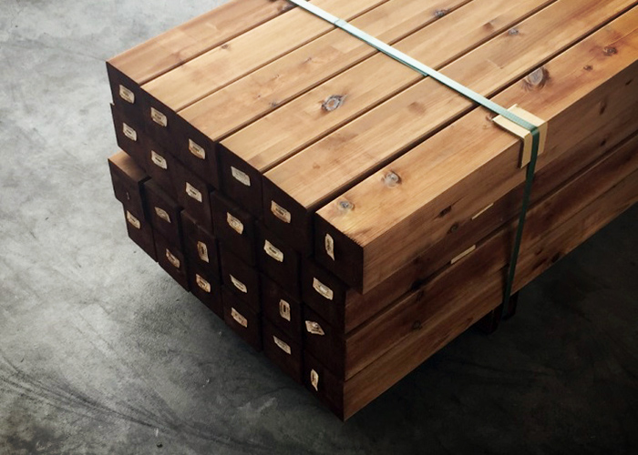 Polkky Soft Timber Posts and Beams from Hazelwood & Hill