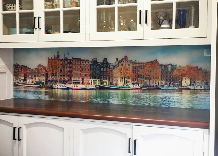 Custom Printed Kitchen Splashbacks from Innovative Splashbacks