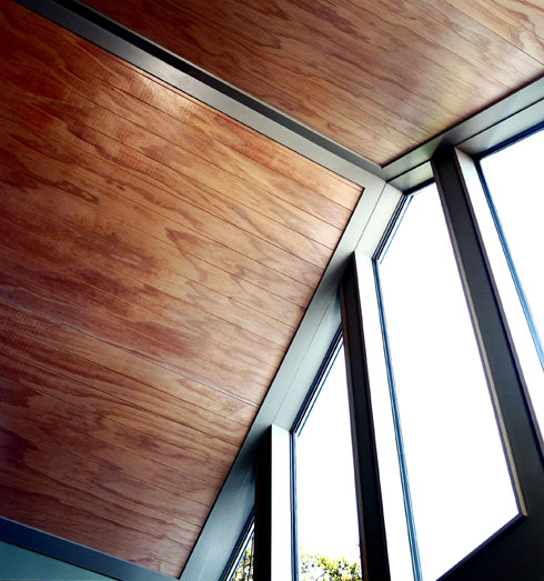 Decosee: Plywood Ceiling