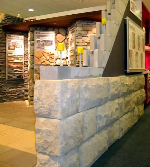 adbri masonry displays at the home ideas centres in