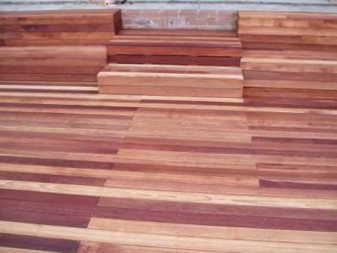 Bransons Building Materials Hardwood decking