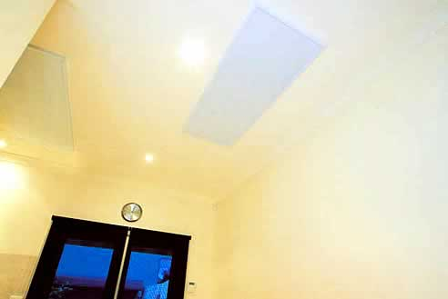 Bathroom Ceiling Heater on Heat On Systems Ceiling Heating Panels