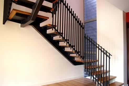 Elegant Staircase Design By Ironbark Blacksmithing