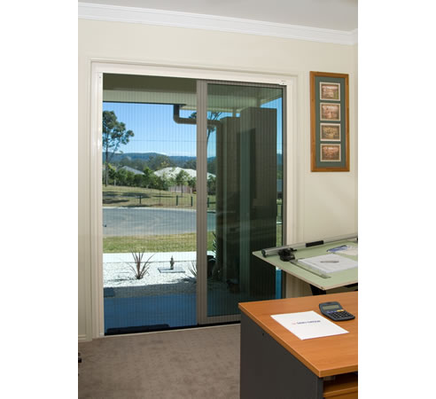 Insect screens for bi fold and french doors from national for Insect screens for french doors